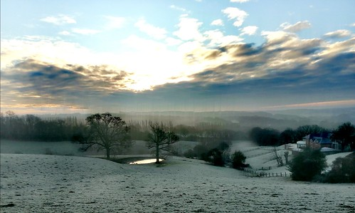 A cold and frosty January morning