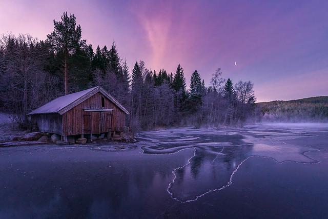 Freezing daybreak
