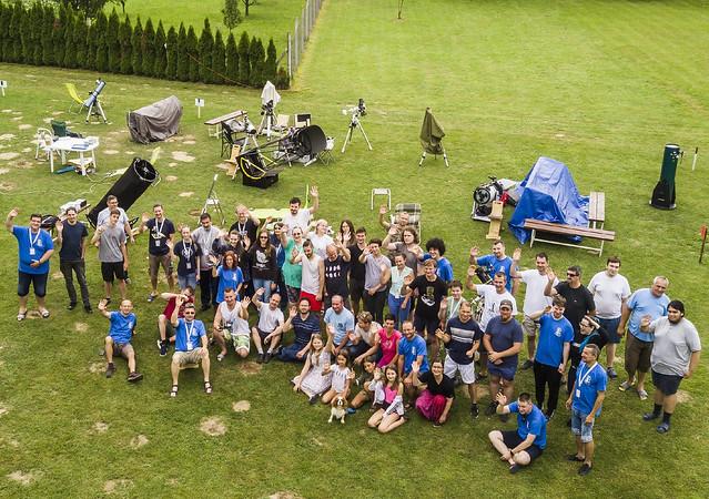 VCSE - A tábor csoportképe. - Fotó: Schmall Rafael