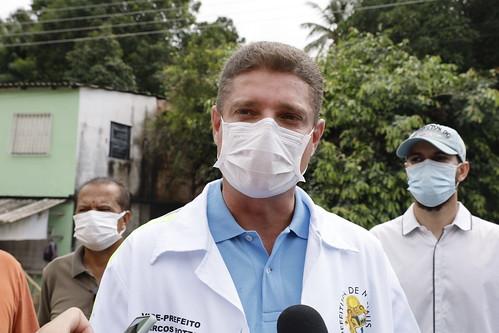 9.1.2021 - Colônia Antônio Aleixo recebe mutirão de tapa-buracos e limpeza