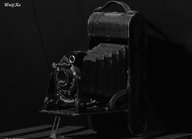 Ninety year old camera