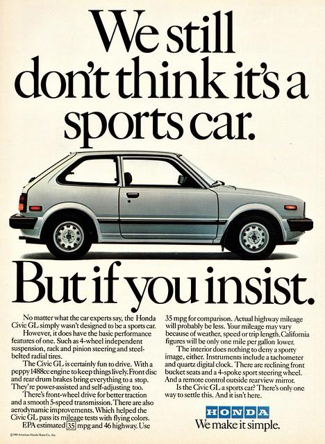 1982 Honda Civic GL