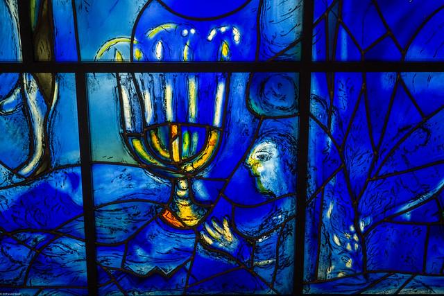 Chagall's America Windows, Art Institute Chicago