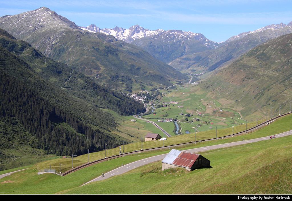 Oberalppass, Uri, Switzerland