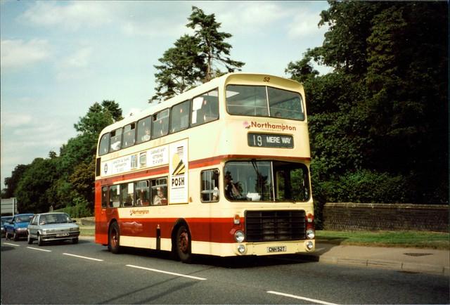 Northampton Transport Bristol VRT 52 CNH52T