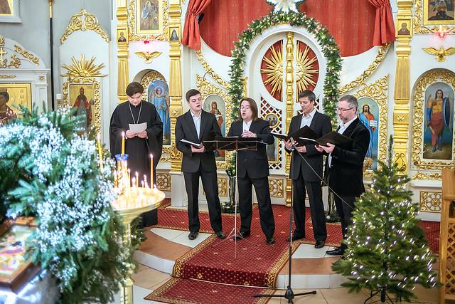 7 января 2021 г. Рождественский концерт