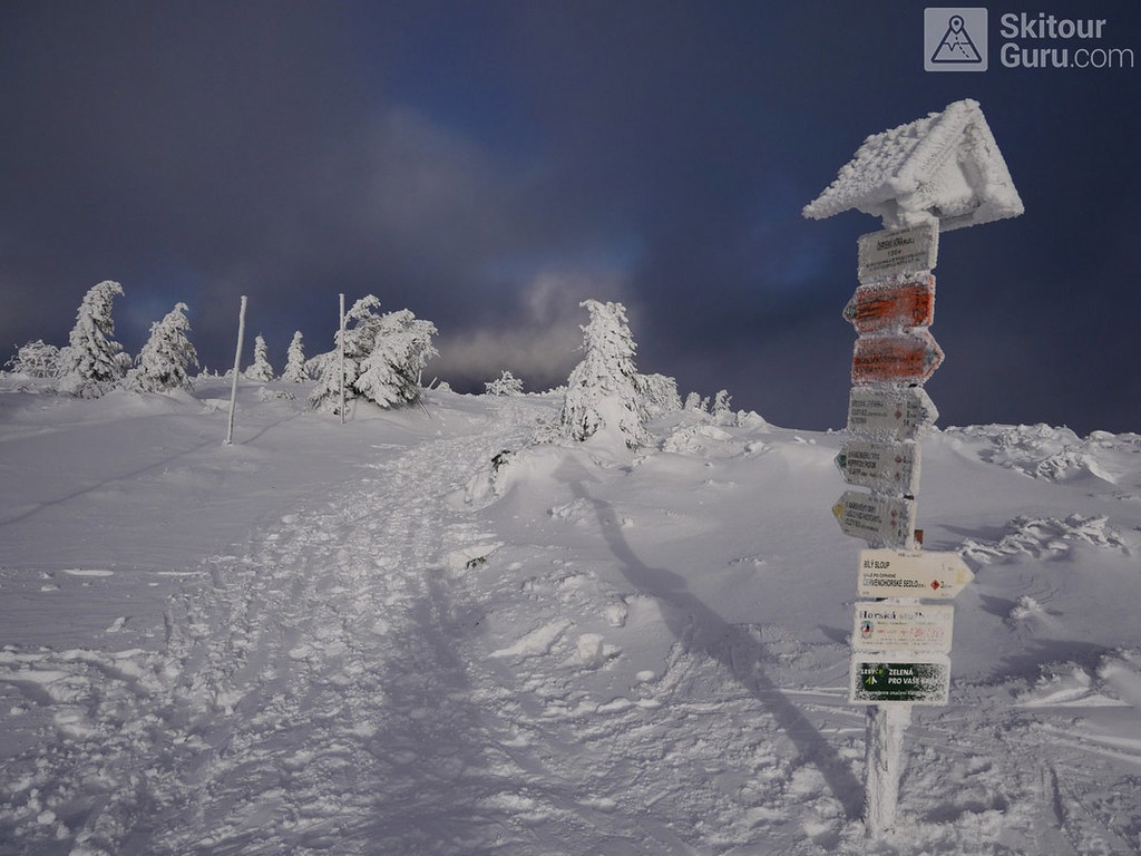 Keprník Jeseníky - Králický Sněžník Tschechien foto 37