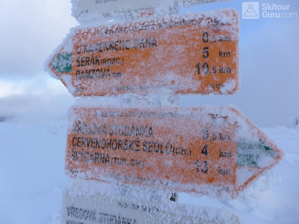 Keprník Jeseníky - Králický Sněžník Tschechien foto 47