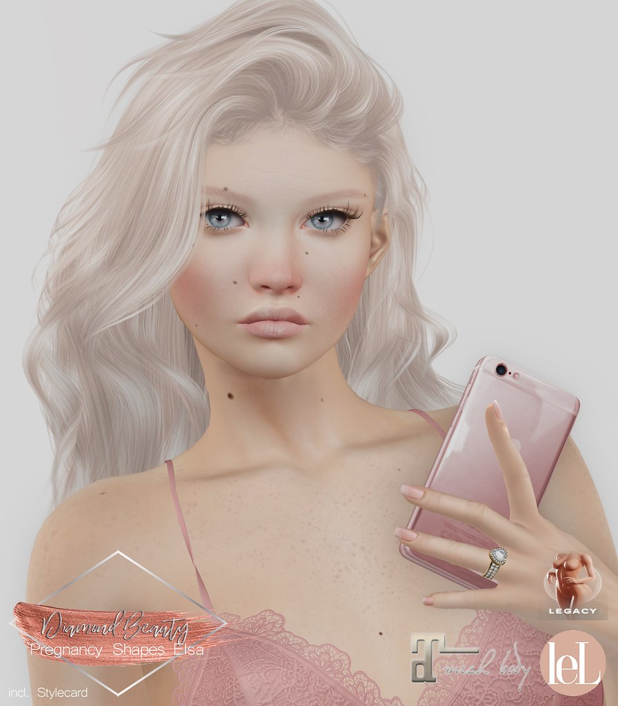 Diamond Beauty - Shape Elsa (LeLutka Evolution Lilly)