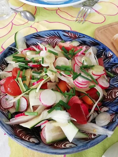 petite salade de légumes