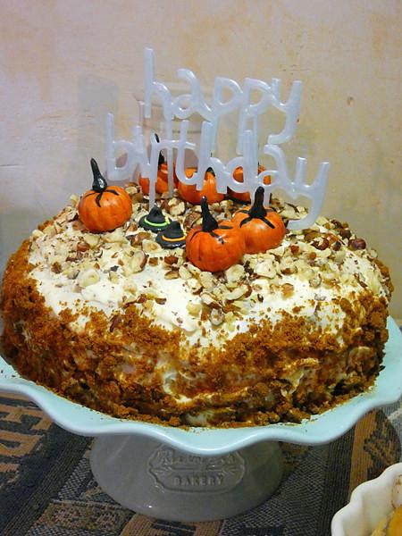le carrot cake de Kristina