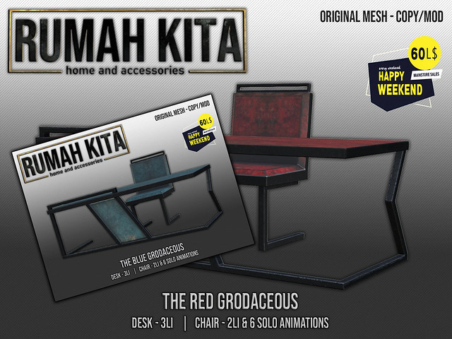 Rumah Kita - The Red & Blue Grodaceous