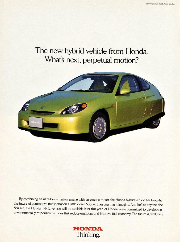 1999 Honda Concept/Pre-Production Hybrid