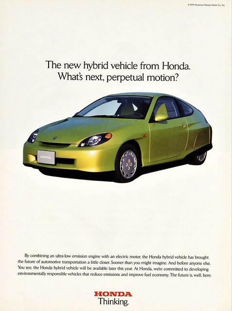 1999 Honda Concept/Pre-Production Hybrid