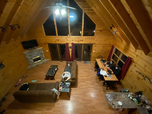 westvirginia harmons cabins interior cabin