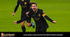 Messi Lewati Gol Free-kick Cristiano Ronaldo Usai Barcelona Menang