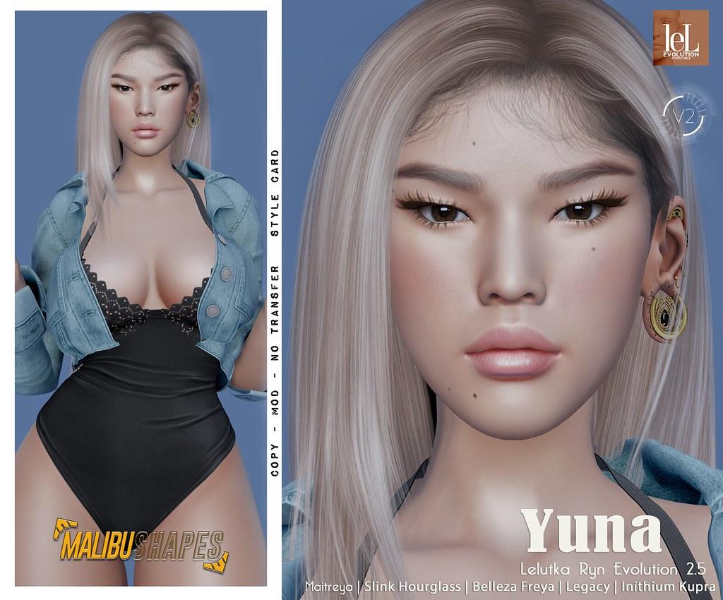 Yuna – Lelutka Ryn Evolution 2.5