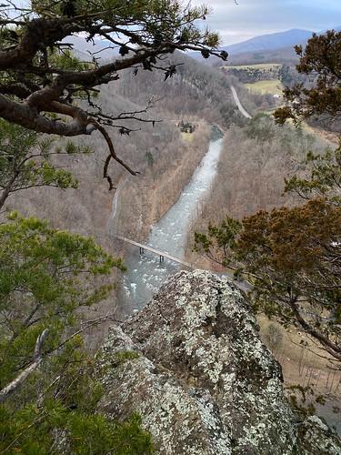 westvirginia top rocks hike harmons cabins trail