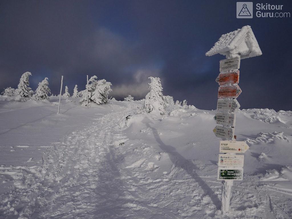 Keprník Jeseníky - Králický Sněžník Tschechien foto 38