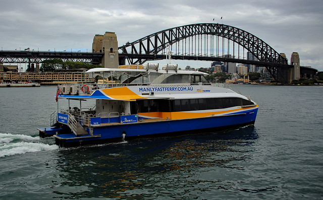 MV 'Ocean Wave' of Manly Fast Ferry