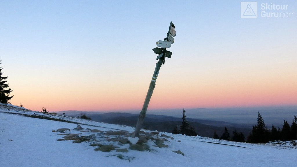 Keprník Jeseníky - Králický Sněžník Tschechien foto 06