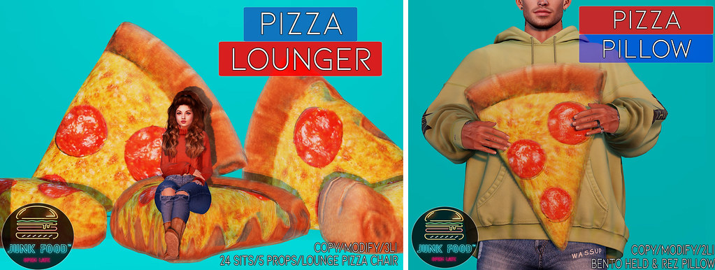 Junk Food – Pizza Pillows HW Ad