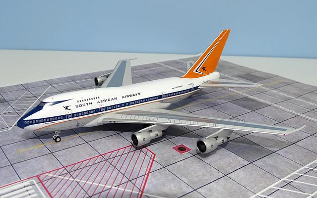 SAA Boeing 747SP ZS-SPF