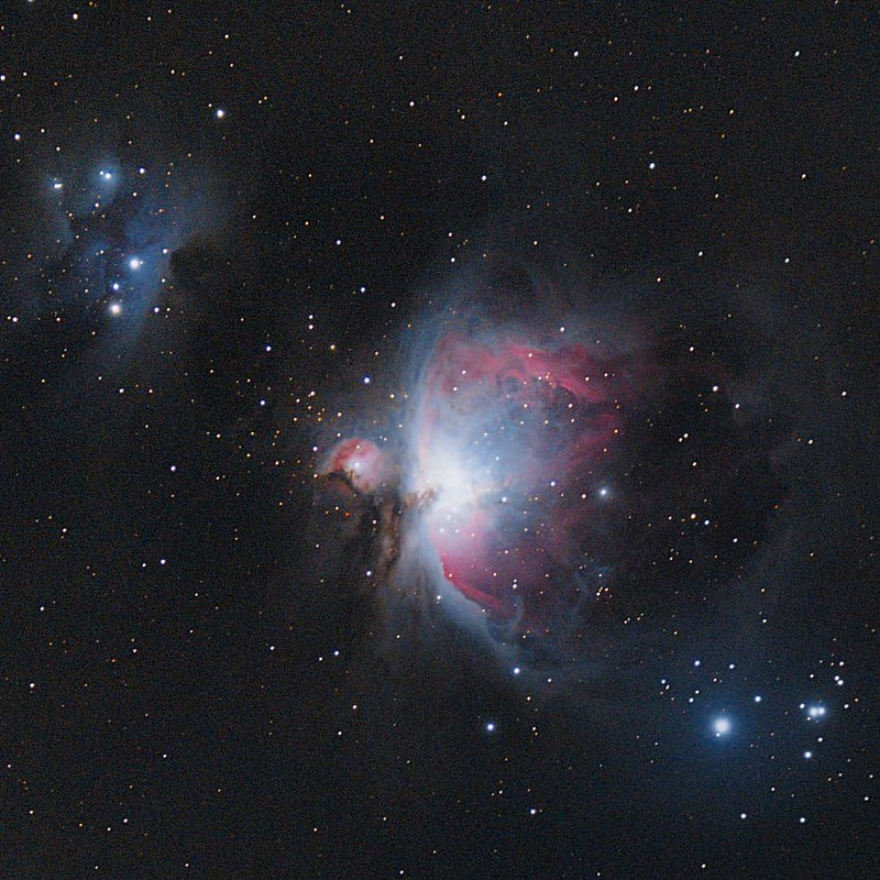 The Great Orion Nebula.