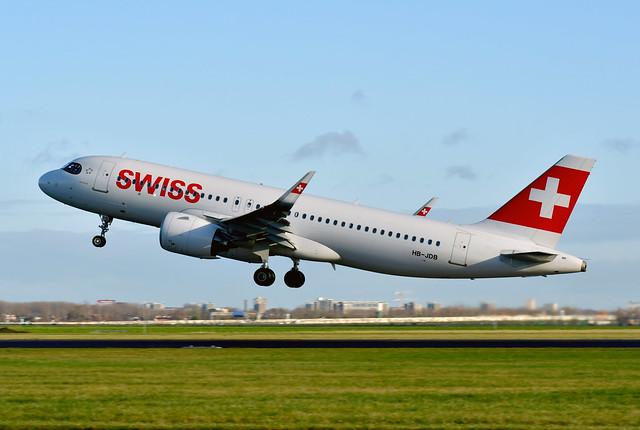 HB-JDB A320-271N cn 9379 Swiss International Airlines 210109 Schiphol 1002
