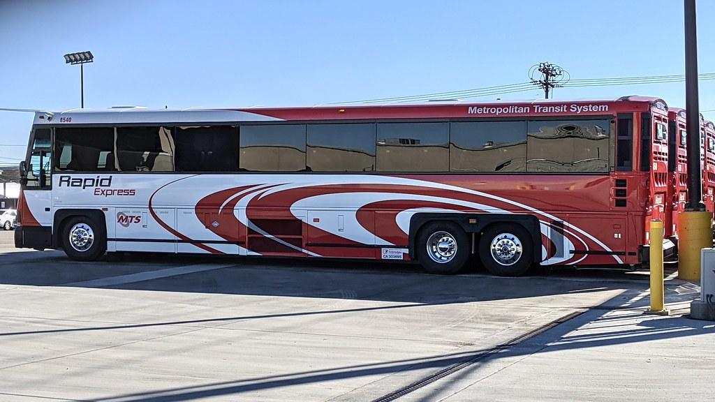 New MTS Bus