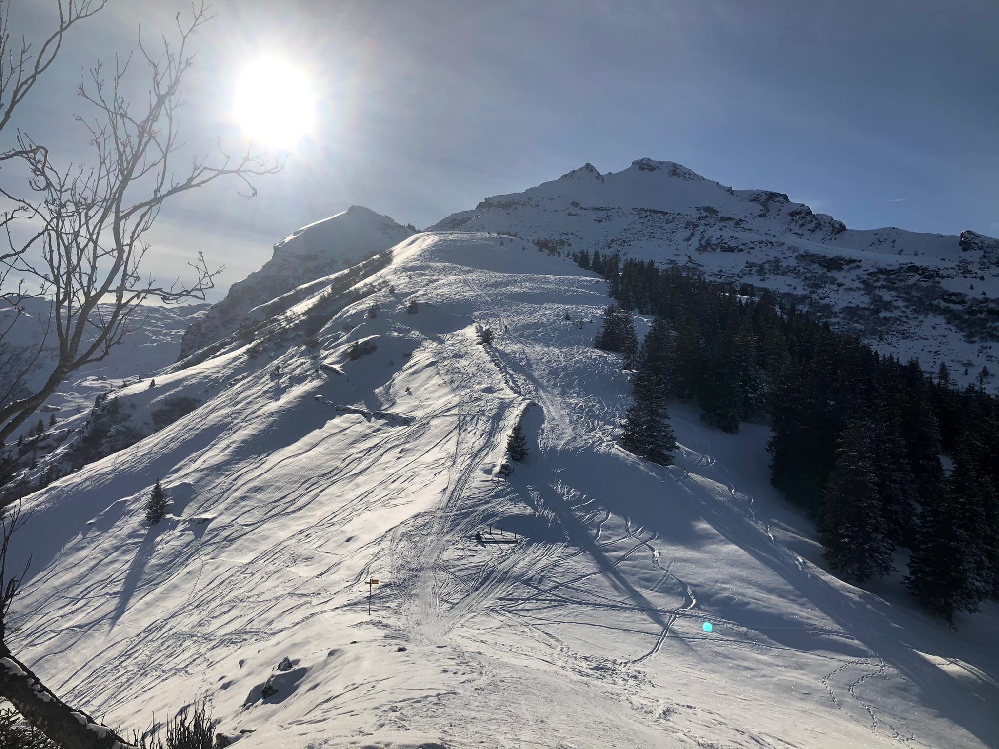 Skitour Garmil 2021