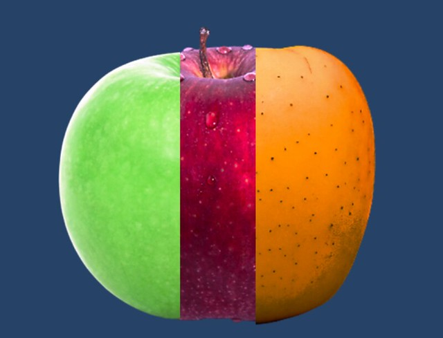 apple from outer space