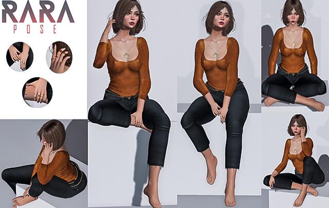 ::RARA Poses:: Bell – Sit pack