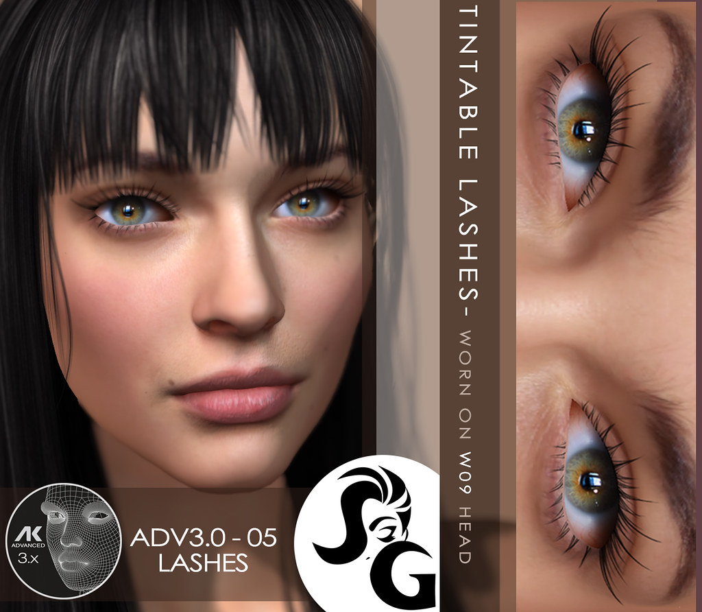 AK Advanced 3.0+ Eyelashes