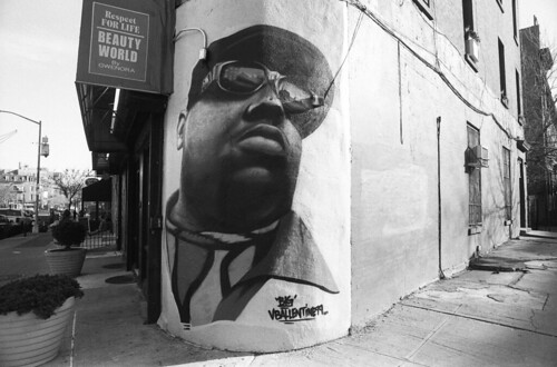 "Fulton Street and Christopher ""Notorious B.I.G"" Wallace Way 