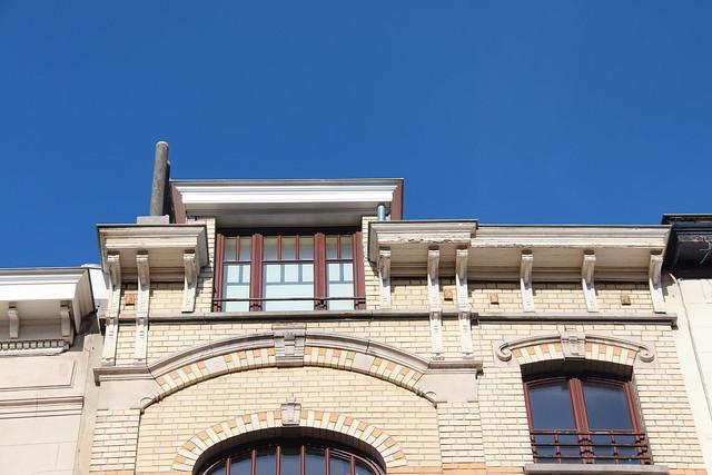 BRUXELLES - Art nouveau / Arch. Jean Van Hall