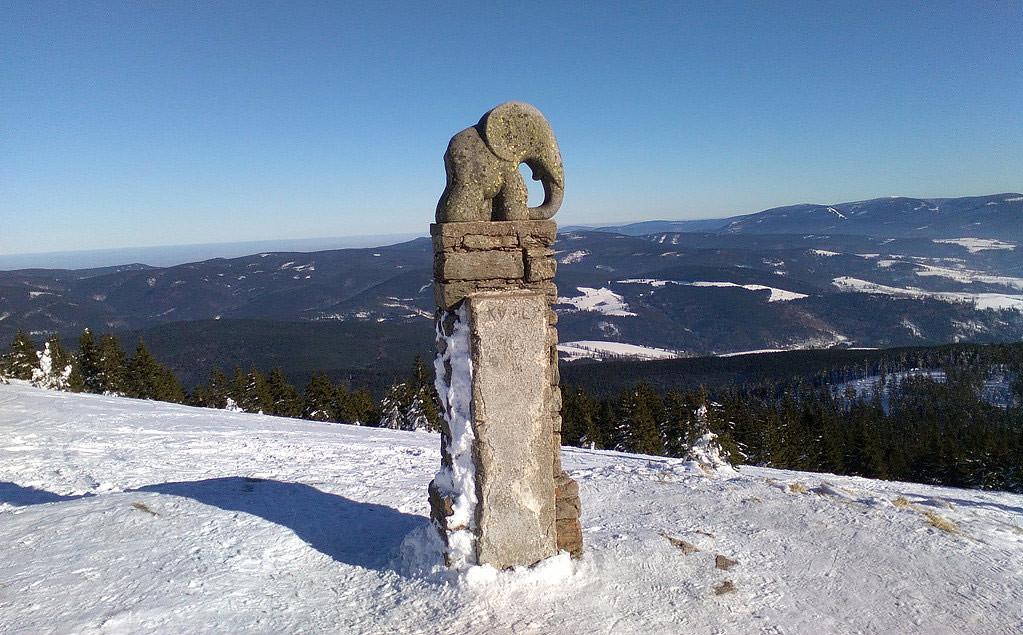 Králický Sněžník - údolím Moravy Jeseníky - Králický Sněžník Tschechien foto 06