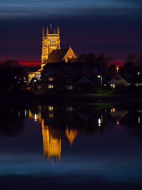 St Mary's Church, Alverstoke - Christmas Day 2020