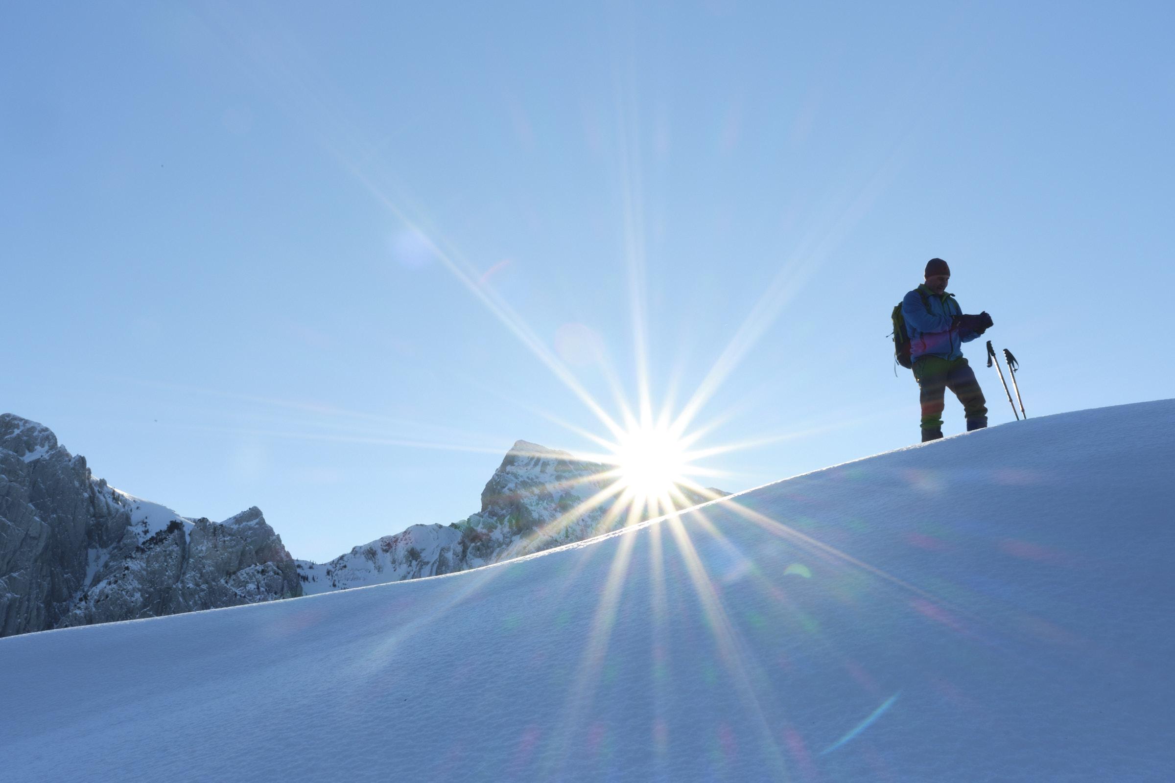 Skitour Brüschstockbügel 10.01.2021