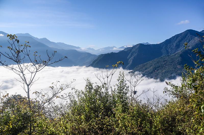 登卡社山山坡林道南面展望 (8)