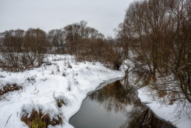 Winter river (2) / Зимняя река