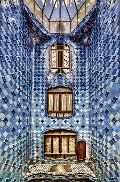 Casa Batlló - Patio of lights