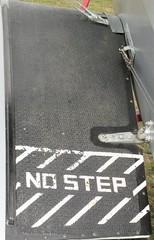 Step mat on Replica Tiger Moth II G-PWBE - Headcorn Aerodrome, Kent on 27.09.20