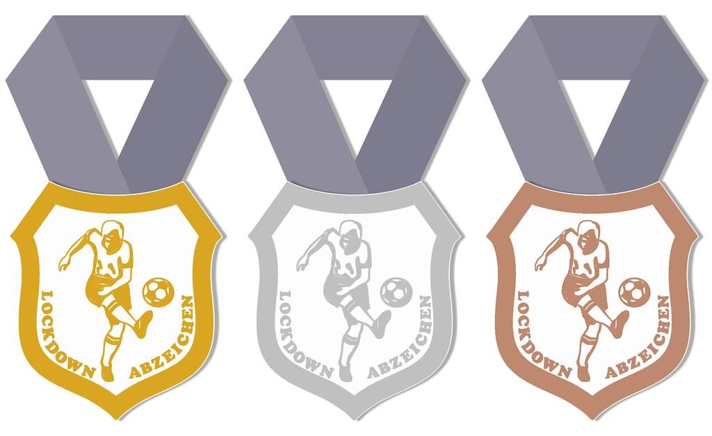 Bronze, Silber und Gold