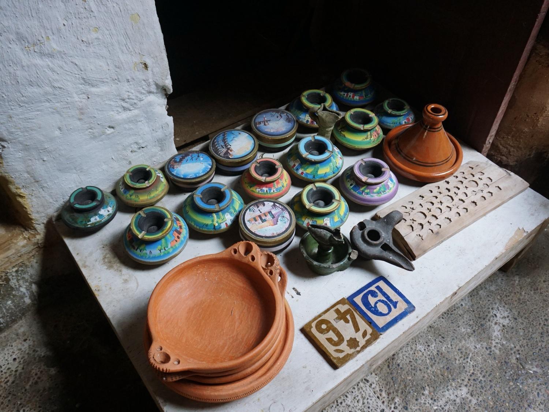 Fes Medina Ceramics