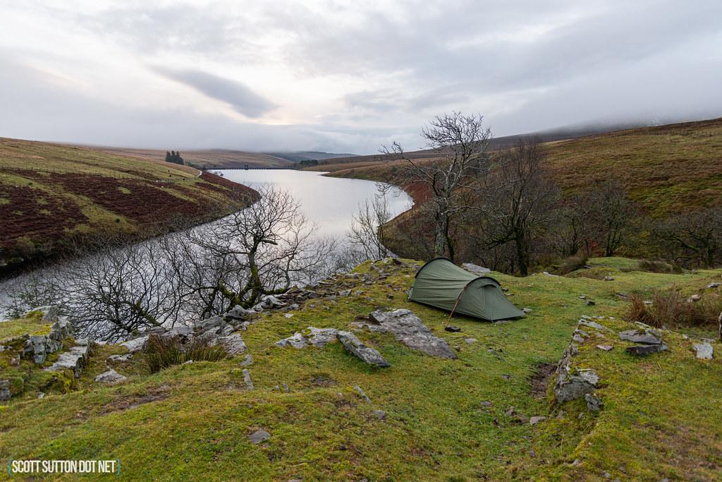 Grwyne Fawr Resevoir Wild Camp