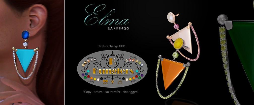 KUNGLERS – Elma earrings