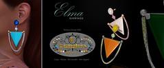 KUNGLERS - Elma earrings