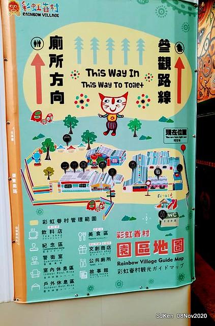 Rainbow village , Taichung, Taiwan, SJKen, Nov 8, 2020.