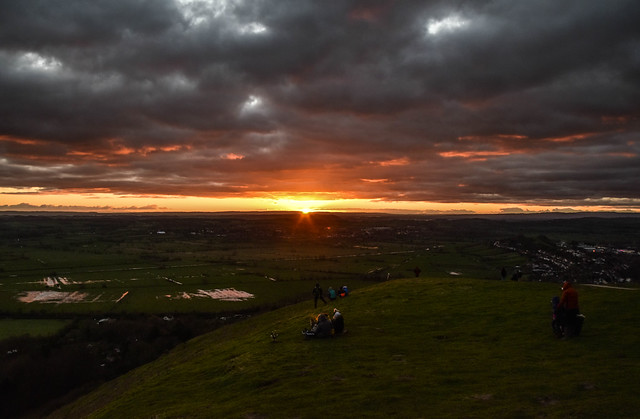 Glastonbury Sunset